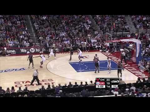 Derrick Rose Highlights vs Clippers 2/2/11 720p HD