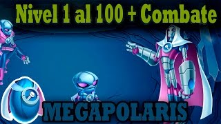 getlinkyoutube.com-Monster Legends - MEGAPOLARIS (Nivel 1 al 100) + Combate
