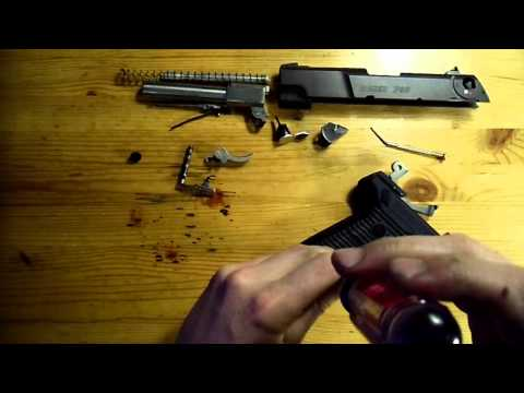 Ruger P90 complete disassembly