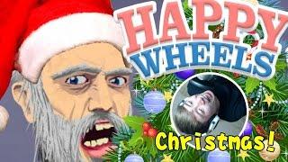 getlinkyoutube.com-試過被聖誕樹壓死嗎...?:Happy Wheels Christmas #33