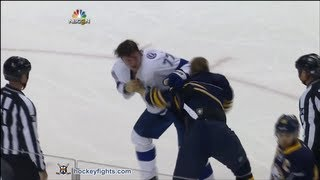 getlinkyoutube.com-Victor Hedman vs Steve Ott Oct 8, 2013