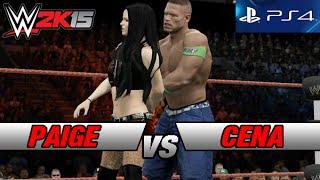 getlinkyoutube.com-WWE 2K15 [PS4] Paige vs John Cena Gameplay 1080p HD