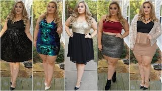 All That Glitters | Plus Size Lookbook 2016