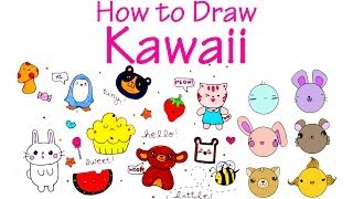 getlinkyoutube.com-How to Draw Cute (KAWAII) Characters