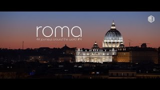getlinkyoutube.com-Roma, Italia - 4K Timelapse - Rome, Italy & Vatican City - Europe city in UHD