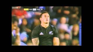 getlinkyoutube.com-New Zealand All Blacks v Scotland Sonny Bill Williams Man of Match highlights interview