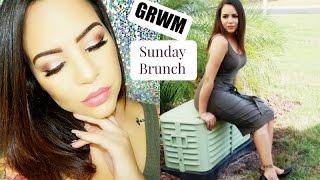 getlinkyoutube.com-GRWM Sunday Brunch ! Urban Decay Gwen Stefani Palette