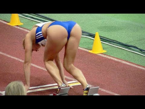Top 10 Revealing Moments in Women's Sprinting, Track & Field (re-edit)