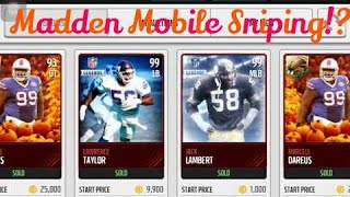 getlinkyoutube.com-How To Make A Madden Mobile Sniping Bot!