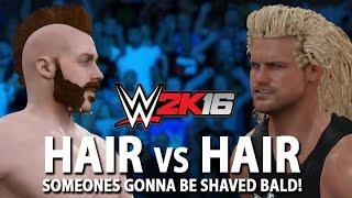 getlinkyoutube.com-WWE 2K16: Hair vs Hair Match Concept (Sheamus vs. Dolph Ziggler)