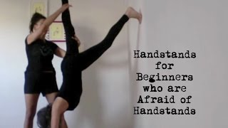 getlinkyoutube.com-yoga handstands for beginners who are afraid of handstands - shana meyerson YOGAthletica