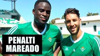 Penalti mareado | CHALLENGE | Real Betis Balompié