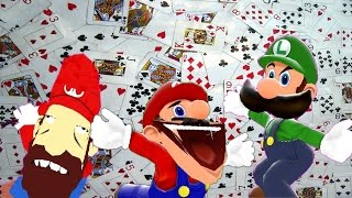 getlinkyoutube.com-SM64 bloopers: Casino, Cards and Chaos