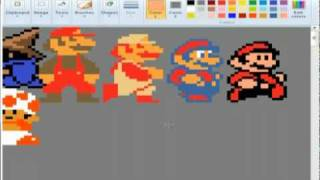 getlinkyoutube.com-8 bit sprite marathon