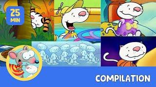 getlinkyoutube.com-Toopy and Binoo: BEST OF Binoo part 2!