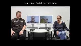 Real Time Expression Transfer For Facial Reenactment