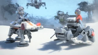 getlinkyoutube.com-Micro Battle of Hoth - LEGO Star Wars - Mini Movie