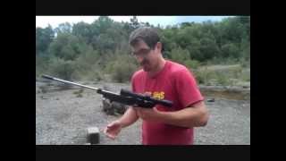 getlinkyoutube.com-Crosman 1377 Modding Project - The 1322 Rifle - PART 1