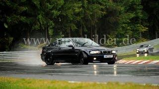 getlinkyoutube.com-Nurburgring Nordschleife E46 M3 sideways/drifting BTG 10:22