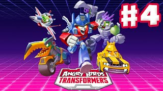 Angry Birds Transformers - Gameplay Walkthrough Part 4 - Ultra Magnus Rescue! (iOS)