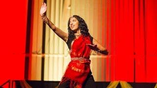 getlinkyoutube.com-Diwali Show - Indian Classical Dance Fusion - Kyufleck