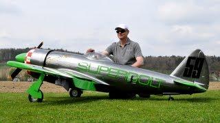 getlinkyoutube.com-P-47 SUPERBOLT Racer 400 Moki