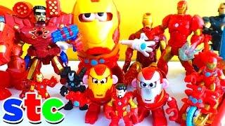 getlinkyoutube.com-Mr Potato Head Marvel Avengers Collection Ironman