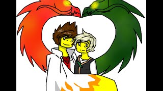 getlinkyoutube.com-Ninjago Greenflame~Listen to your heart