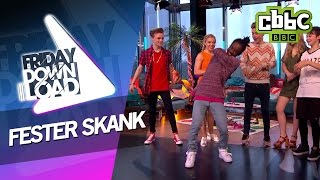 getlinkyoutube.com-Bars and Melody learn the Fester Skank with Akai - CBBC Friday Downlaod