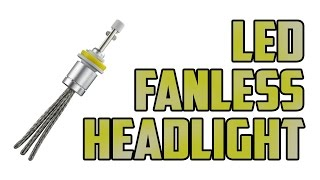 getlinkyoutube.com-LED (fanless) headlights install and test