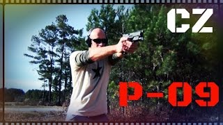 getlinkyoutube.com-CZ P-09 Full Size 9mm Handgun Review (HD)