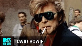 getlinkyoutube.com-David Bowie & Peter Frampton Search for Beer in Madrid | MTV News