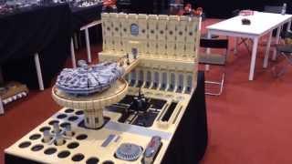 getlinkyoutube.com-LEGO STAR WARS - HUGE CLOUD CITY DIORAMA - CELEBRATION EUROPE 2, MESSE ESSEN, GERMANY