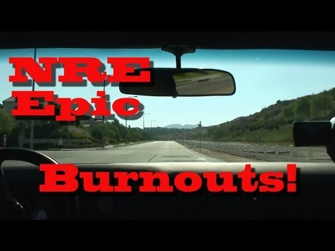 NRE Epic Burnouts!  LOL!  Nelson Racing Engines. NRE TV Episode 212.