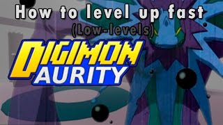 getlinkyoutube.com-Digimon Aurity : How To Level Up Fast (Low-levels) | Roblox
