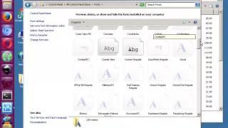 getlinkyoutube.com-طريقة اضافة خطوط جديدة في نظام التشغيل ويندوز 7   الطريقة الأسهل