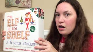 UNBOXING of the PURPLE Elf on The Shelf & GIVEAWAY (CLOSED)