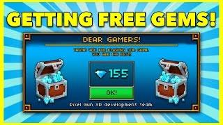 getlinkyoutube.com-FREE GEMS! | Pixel Gun 3D - New Update 10.2.4 [Review]