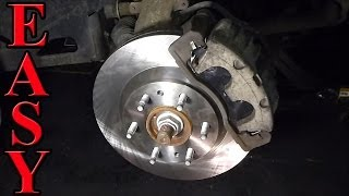 getlinkyoutube.com-Front Brake Pad and Rotor Replacement