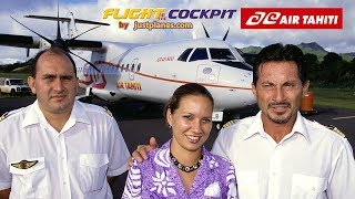 getlinkyoutube.com-AIR TAHITI ATR42 & ATR72