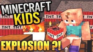 getlinkyoutube.com-BABY FINDET TNT😱 | Minecraft Kids