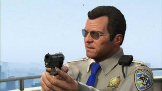 getlinkyoutube.com-GTA V - Mexican Standoff with FIB, IAA, Merryweather and Police