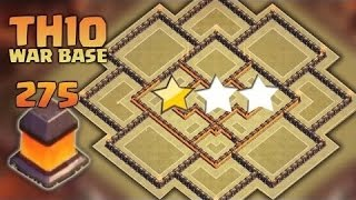 "getlinkyoutube.com-Clash of Clans TH10""Town Hall 10"" War Base Anti 2 Star Anti Valkyrie 2016"