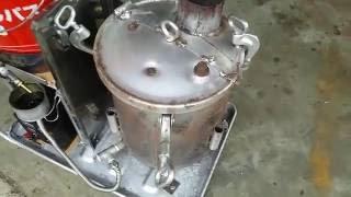 getlinkyoutube.com-廃油ストーブ 送風機付き自作しました。
