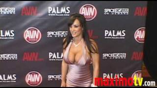 getlinkyoutube.com-LISA ANN Arriving at 2010 AVN AWARDS SHOW Las Vegas