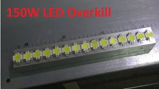 getlinkyoutube.com-Diy Monster, 15 x 10w LED Strip Overkill