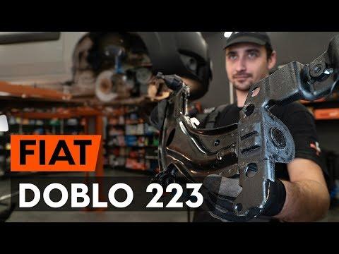 Как заменить передний рычаг подвески FIAT DOBLO 1 223 (ВИДЕОУРОК AUTODOC)