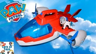 getlinkyoutube.com-Air Rescue!! Paw Patrol Air Patroller, Lights and Sounds Transforming Heliplane, Airpalne, Chopper