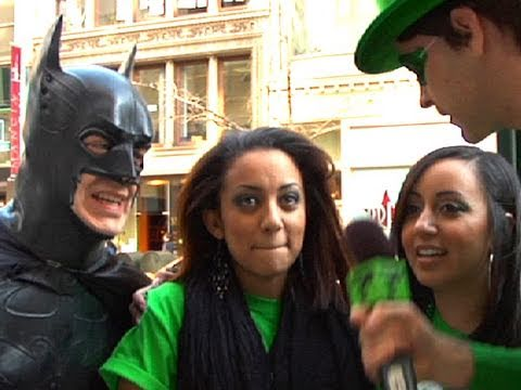 Batman DRUNK on St. Patrick's Day!