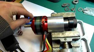 getlinkyoutube.com-Brushless DC Motor Spindle for CNC - Test Run - by C. Raynerd
